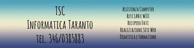 Informatica Taranto